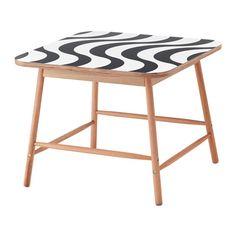 IKEA - TILLFÄLLE, Table basse, Le bois d'eucalyptus est un matériau naturel vivant, et les variations du grain et de la couleur rendent chaque meuble unique.Les angles arrondis assurent la sécurité des enfants qui risquent moins de se cogner la tête.