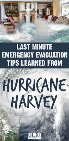 Keep your family safe with these last minute emergency evacuation tips learned during Hurricane Harvey that apply to any natural disaster and evacuation.Don't let a last minute evacuation derail you from your preparedness plans.