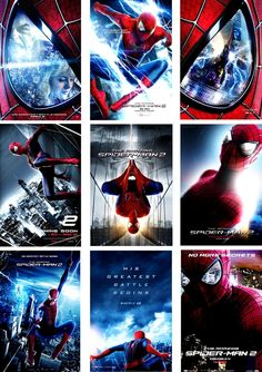 The Amazing Spider-Man 2 Posters 2014 Marvel Comic Universe, Marvel Dc Comics, Marvel Cinematic Universe, Spiderman Movie, Amazing Spiderman, Spiderman Spider, Marvel Characters, Marvel Movies, Spider Man 2