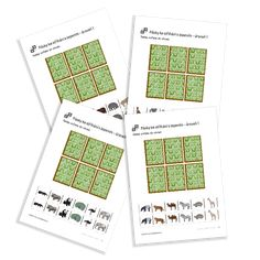 Cut and Stick úrovně 1 of the serie Zoo Animals. Zoo Animals, Free Printables, Language, Free Printable, Languages, Language Arts