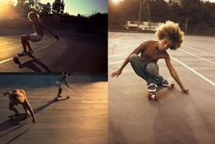 One afternoon in a young photographer named Hugh Holland drove up Laurel Canyon Boulevard in Los Angeles and encountered Hugh Holland, Skater Kid, Bleach Blonde Hair, Z Boys, Tan Body, Laurel Canyon, Skate Surf, Skateboard Girl, Tube Socks