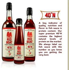 Red Boat Fish Sauce (the only brand I buy)