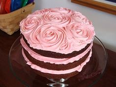 beautiful baby girl birthday cake