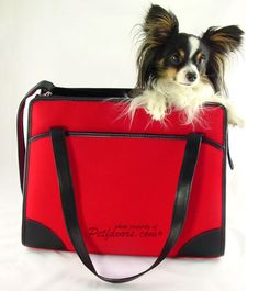 Sherpa Monaco Pet Tote - Petfavors.com - The on-line store for pampered pets. Designer pet beds, pet carriers, outdoor cat enclosures, pet strollers