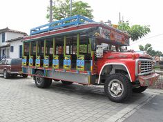 Traditional Colombian bus.