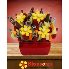 Grand Fiesta Blossom scent free fruit bouquet are great for all occasions and make great gifts ideas or decorations from a proud Canadian Company. Great alternative to traditional flowers or fruit baskets Christmas Arrangements, Fruit Arrangements, Free Fruit, Gingerbread Man, Corporate Gifts, Delicious Desserts, Healthy Snacks, New Baby Products, Bouquet