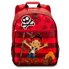 Jake Backpack - Personalizable | Backpacks & Lunch Totes | Disney Store