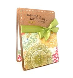 Happy Birthday 'Sending You Birthday Wishes' - Handmade Greeting Card