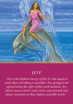 Oracle Card Joy | Doreen Virtue | official Angel Therapy Web site