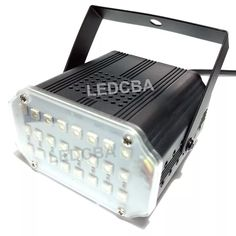 Mini Flash Multicolor Rgb 24 Led Regulable Y Audio Rítmico - $ 459,00 en Mercado Libre Audio, Flash, Led, Mini, Dj Equipment, Something Borrowed, Free Market, Products