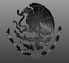 Mexican Flag Eagle by dragonprow on deviantART Mexican Flag Tattoos, Mexican Flag Eagle, Mexican Flags, Chicano Love, Chicano Art, Mexico Wallpaper, Trippy Wallpaper, Mexico Tattoo, Mexican Heritage
