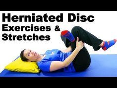 Herniated Disc Exercises & Stretches - Ask Doctor Jo Slipped Disc Exercises, Stretching Exercises, Herniated Disc Lower Back, Exercises For Herniated Disc, Back Disc, Lumbar Disc, Psoas Release, Degenerative Disc Disease, Lower Back Exercises