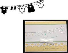 Baby Shower Embossing Folder Darice Baby Clothes on Line | eBay LOVING ALL OF THESE DARICE EMBOSSING FOLDER IDEAS