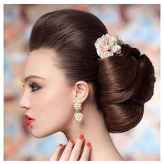 chic and reminiscent of geisha styles