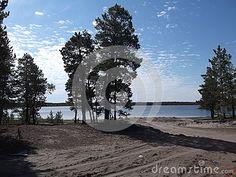 Lake `Kotoh` in Yakutia-Vilyuysk district
