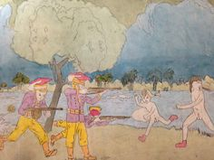 From Henry Darger's epic pictorial tale