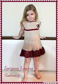 """Начинаем вязать платье """"Изумрудное счастье"""" для девочки! - Вяжем вместе он-лайн - Страна Мам"""