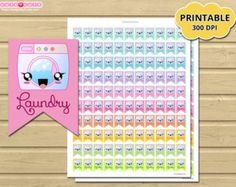 Weekly Hydrate Tracker kawaii Planner Stickers bottle, Side bar Printable Planner Stickers for Erin condren or Happy planner  ❤ Print as many times as you like!!!.  ❤ Include ZIP with JPG files letter (8,5 x 11) and A4 (210 x 297mm) for easy printing. (JPG is a non-editable format).  ❤ Please note that the colors displayed on the monitor may show slight variations in true paper stock color.. You may need to adjust the settings of your printer to get the right color you want. I recommend…