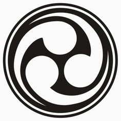 This is the Shinto trinity, called the mitsu-tomoe. Very obvious 666. Am I the first to notice this?