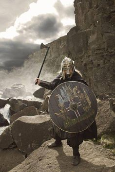 Vikings were the second people to discover America. Leif Ericson was the first to sight it.