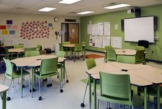 KI recently teamed up with the Leap Academy STEM Charter School to advance the transformation of the school's traditional classrooms to engaged learning spaces. #K12 #EngagedLearning #Education #Furniture #Strive #Classroom