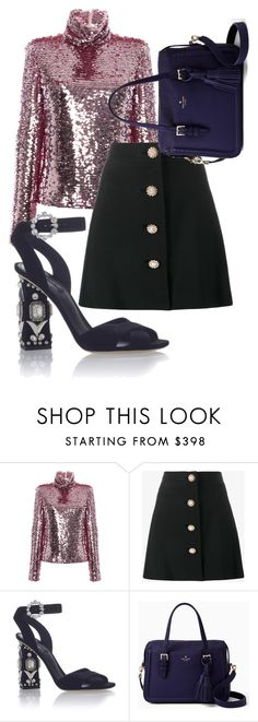 """""""Untitled #48"""" by notosuper on Polyvore featuring MSGM, Miu Miu, Dolce&Gabbana and Kate Spade"""