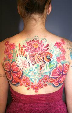 Artist Michele Wortman.  I love her tattoos.