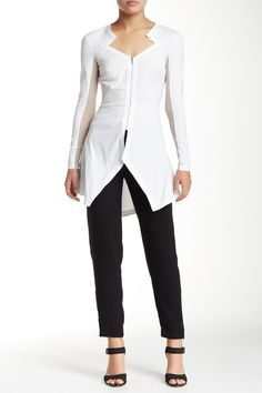 Relaxed Crepe Trouser  by Yigal Azrouel on @HauteLook
