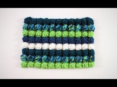 Crochet Bobble Stitch - YouTube