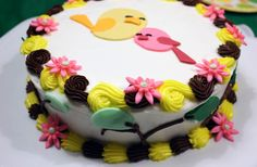 Spring party cake... Very cute