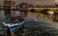 Taranto, (il cosiddetto) ponte di pietra.