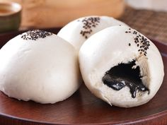 sesame bun #Taiwan #food 芝麻包