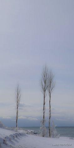 Lake Michigan from Point Betsie by Luke Hertzfeld