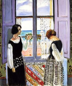 Henri Matisse. Waiting