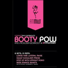 FitMiss Booty Pow Workout