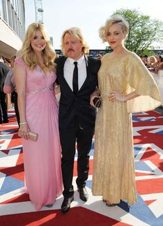 Holly Willoughby, Fearne Cotton and Keith Lemon at the BAFTA TV Awards 2012