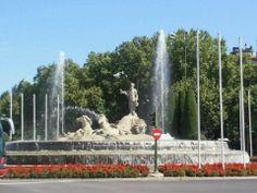 Photo taken at Fuente de Neptuno by Leo B. on 9/6/2011