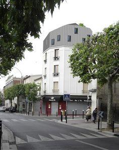 surélévation à Montreuil