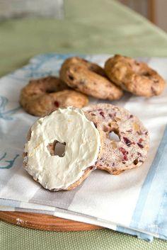 cranberry walnut bagels by kokocooks, via Flickr