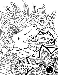 amazing adult swear word coloring pages for adult coloring ...