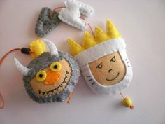 Where the wild things are - felt name banner