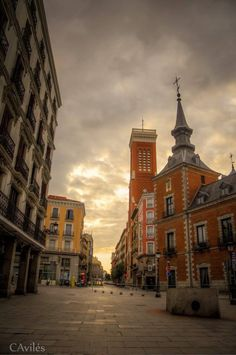 Plaza de la Provincia Next to Plaza Mayor Madrid - Spain
