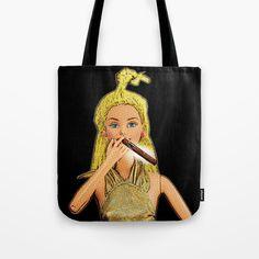 Tote Bag by plasticpam Buy Cigars, Cigar Smoking, Beach Look, Paper Bags, Poplin Fabric, Beach Towel, Pop Art, Stress, Barbie