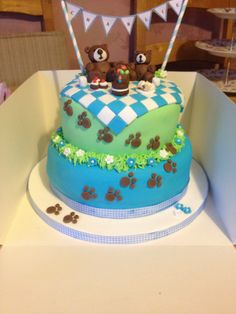 Teddy Bear Picnic cake