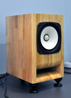 """DIY 4"""" full-range speaker using the Fostex FE126en driver."""