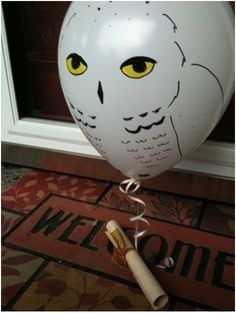 """Harry Potter birthday surprise! Would be awesome for a morning surprise and could be as simple as """"Happy Birthday!"""" I would love this!"""