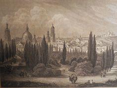 1852 Print: Lemberg by FoxyBooksandAntiques on Etsy