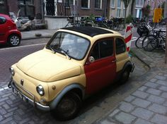 Small Cars in Amsterdam: A Photo Essay