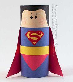 10 ideias reciclar rolinho papel higienico artesanato bonequinhos brinquedos reciclados criancas7