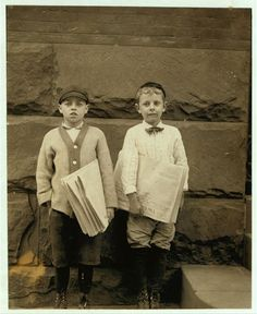 Arthur H. Toody, 536 Market St. Newsboy, 8 years of age. Selling papers 1 years [sic] Average earnings 20 cents per week. Selling newspapers own choice. Earnings not needed at home. Don't smoke. Visits saloons. Works 5 hours per day. Wants money for moving picture. May, 1910. Investigator, Edward F. Brown.  Location: Wilmington, Delaware